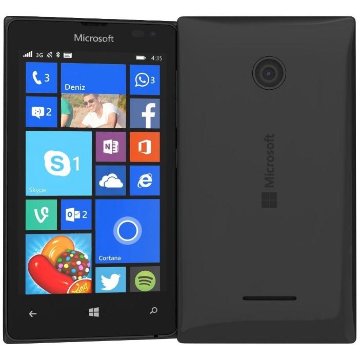 Сотовый телефон Microsoft 435 Lumia Dual SIM Black