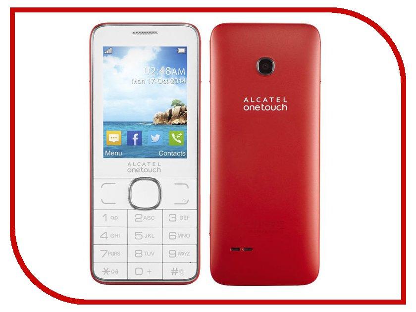 Сотовые / мобильные телефоны, смартфоны 2007D  Сотовый телефон Alcatel OneTouch 2007D Red