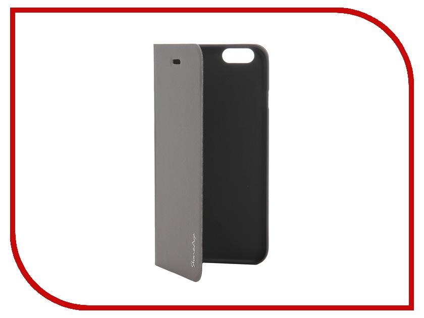 Аксессуар Чехол-накладка Stone Age Polar Night for iPhone 6 Grey<br>