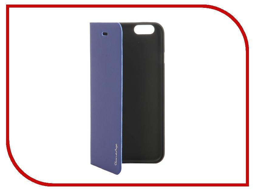 Аксессуар Чехол-накладка Stone Age Polar Night for iPhone 6 Blue<br>