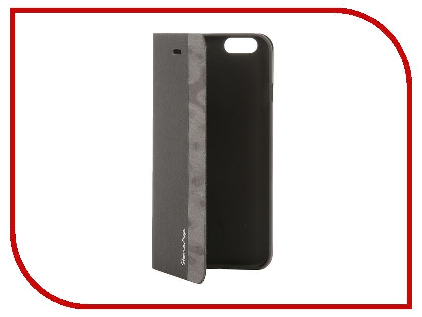 Аксессуар Чехол-накладка Stone Age Jungle Collection Wood Skin for iPhone 6 Grey<br>