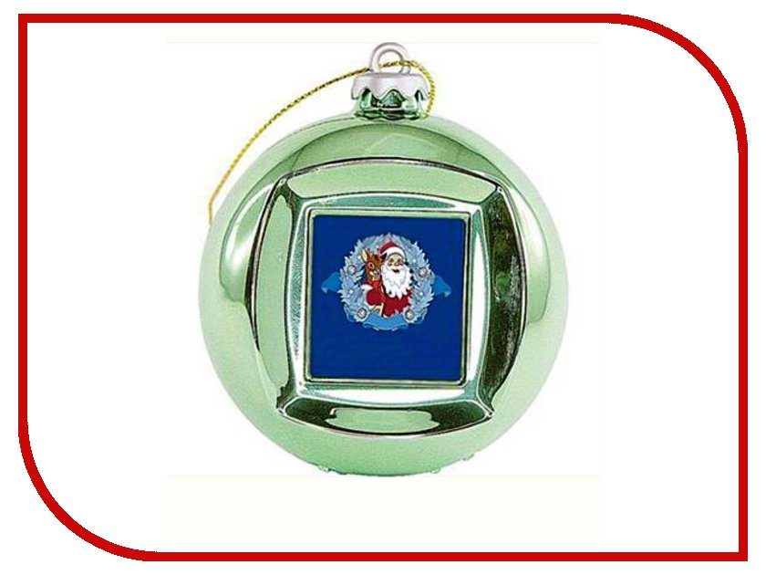 Украшение Mister Christmas Frame Ball/5 Green<br>