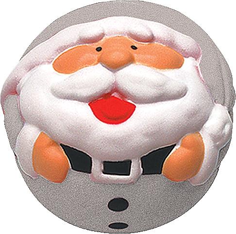 Игрушка антистресс Mister Christmas Дед Мороз ANTI-4 Silver