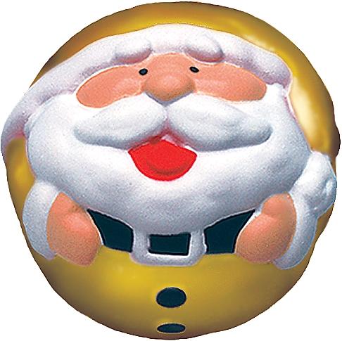 Игрушка антистресс Mister Christmas Дед Мороз ANTI-5 Gold