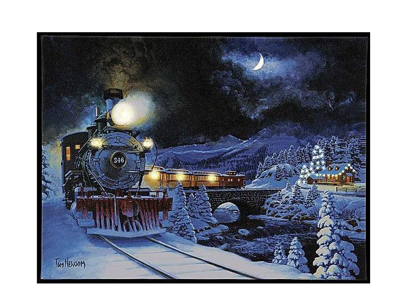 Новогодний сувенир Mister Christmas Панно G10272
