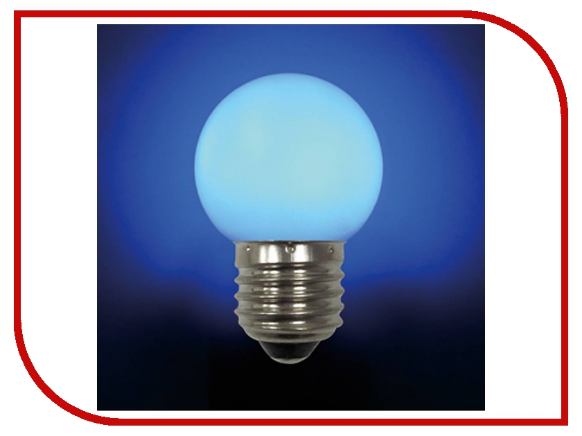 Лампочка Mister Christmas LB-45-BLUE E27 Blue