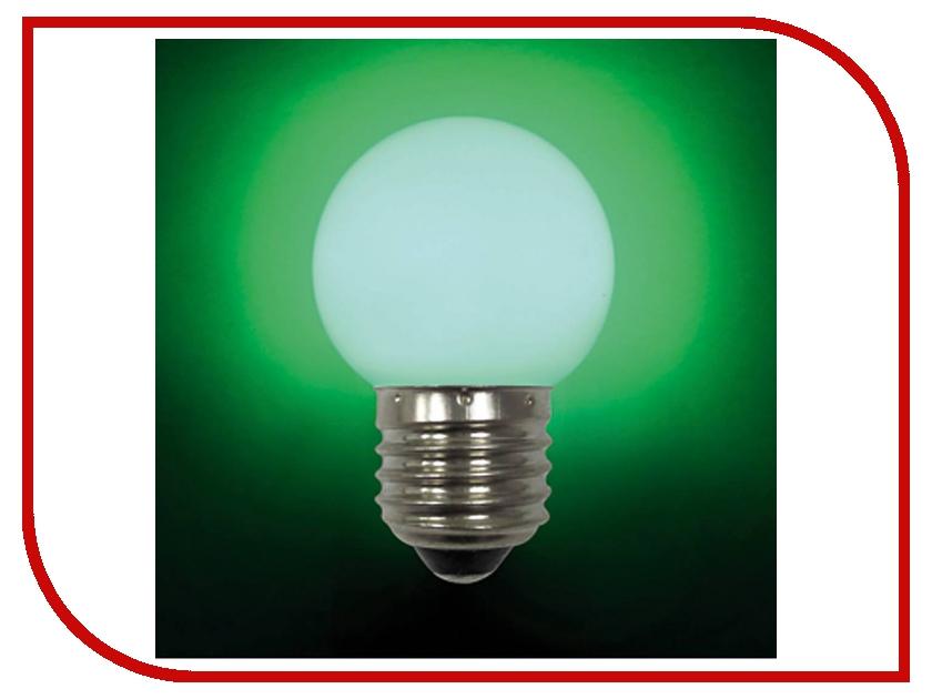 Лампочка Mister Christmas LB-45-GREEN E27 Green