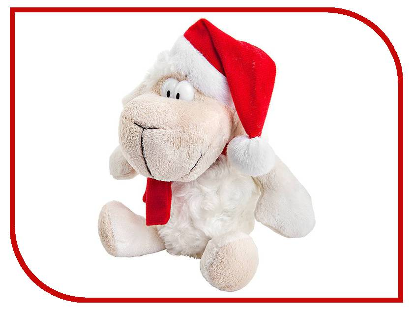 игрушка Mister Christmas Овечка White-Red L2015-R2