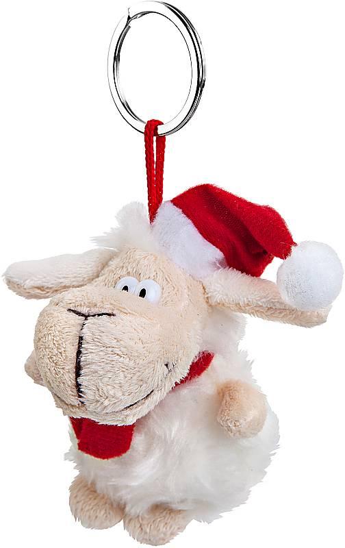 Гаджет Mister Christmas Брелок Овечка L2015-RK White-Red