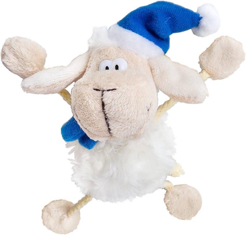 Гаджет Mister Christmas Брелок Овечка L2015-BM White-Blue