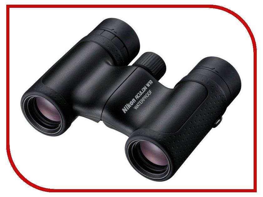 Бинокль Nikon 10x21 Aculon W10 Black<br>