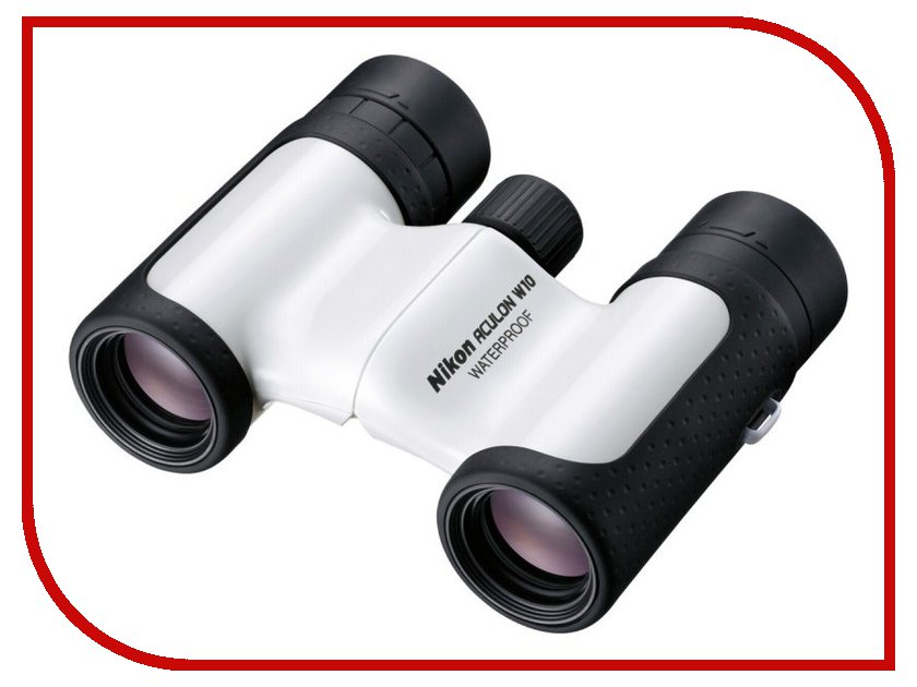 Бинокль Nikon 10x21 Aculon W10 White<br>