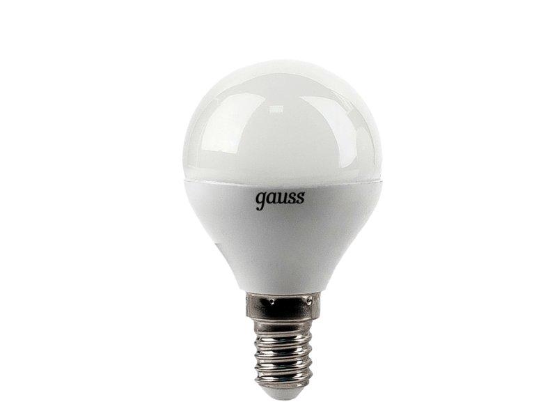 Лампочка Gauss 4W E14 4100K EB105101204<br>