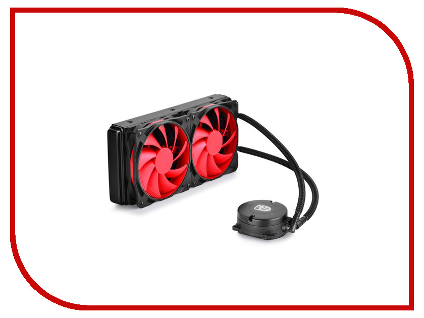 Водяное охлаждение DeepCool Maelstrom 240 (Intel S775/S1150/1155/S1156/S1356/S1366/S2011/AM2/AM2+/AM3/AM3+/FM1/FM2/FM2+)