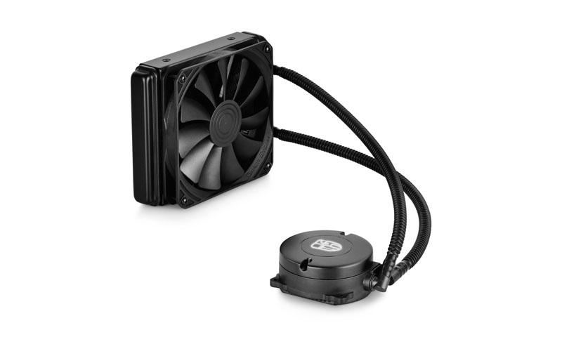 Водяное охлаждение DeepCool Maelstrom 120K (Intel S1150/1155/S1156/S1356/S1366/S2011/AM2/AM2+/AM3/AM3+/FM1/FM2/FM2+)