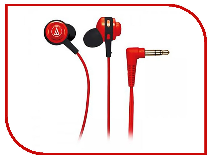 Audio-Technica ATH-COR150 Red audio technica ath m50x