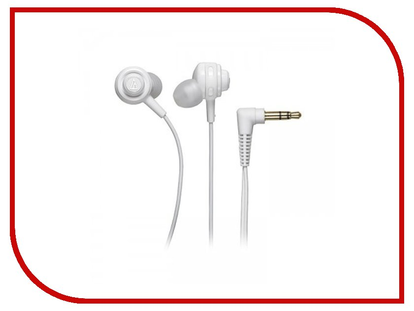 Наушники Audio-Technica ATH-COR150 White