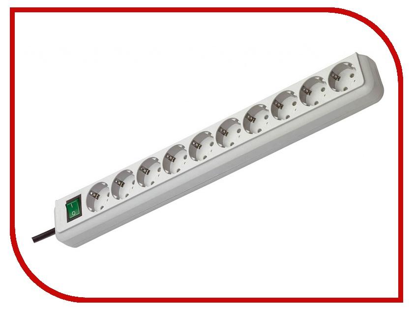 Сетевой фильтр Brennenstuhl Eco-Line 10 Sockets 3m 1159350010 сетевой фильтр daesung mc2533 3 sockets 3m