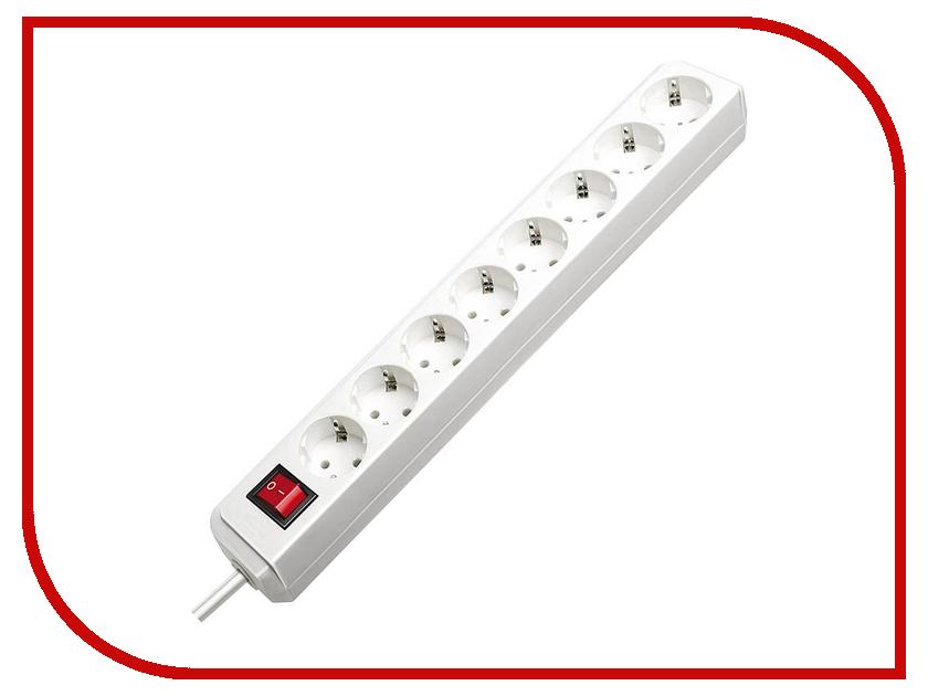 Сетевой фильтр Brennenstuhl Eco-Line 8 Sockets 3m 1159320018 сетевой фильтр daesung mc2533 3 sockets 3m