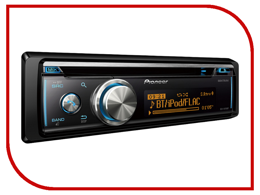Автомагнитола Pioneer DEH-X8700BT автомагнитола kenwood kdc bt510u