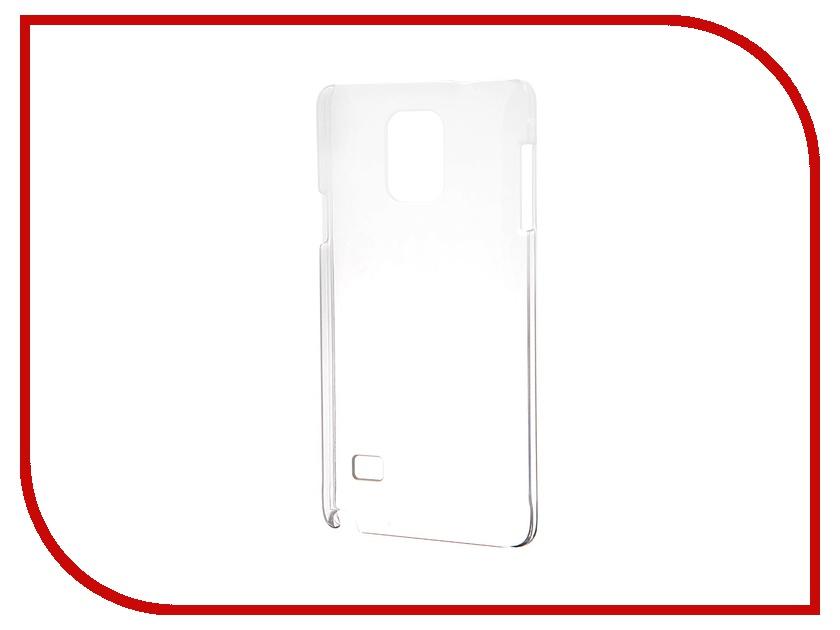 Аксессуар Чехол-накладка Samsung Galaxy Note 4 Muvit Clear Back Crystal Case MUCRY0036<br>