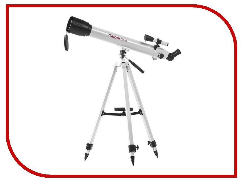 Телескоп Veber 700/70 Az White