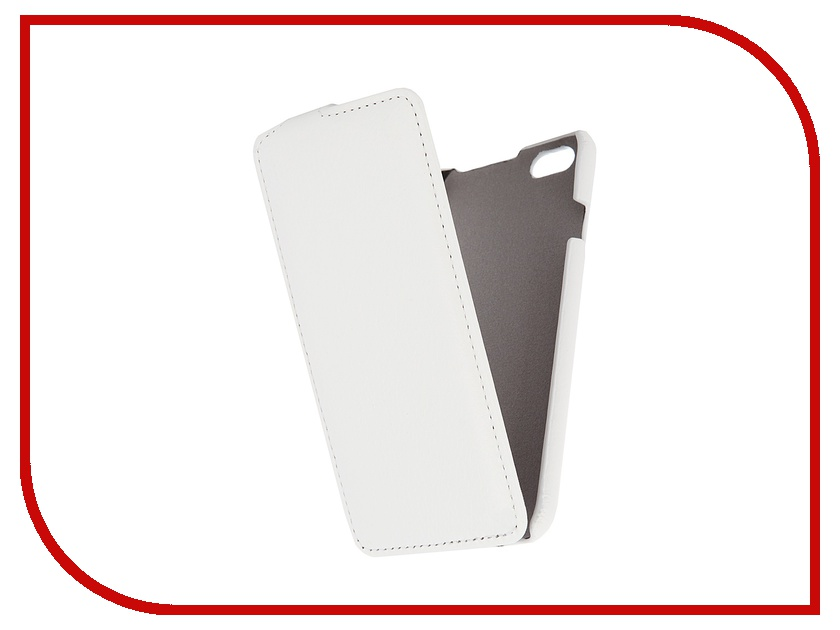 Аксессуар Чехол Clever Case ShellCase для iPhone 6 PU White<br>