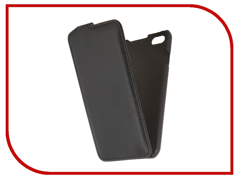 Аксессуар Чехол Clever Case ShellCase для iPhone 6 PU Black PS017<br>