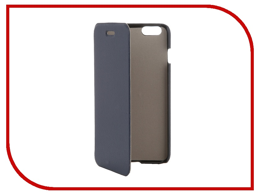 Аксессуар Чехол Clever Case ShellCase for iPhone 6 Plus PU Blue<br>