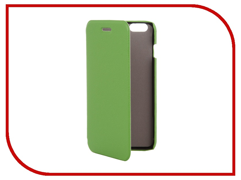 Аксессуар Чехол Clever Case ShellCase for iPhone 6 Plus PU Green