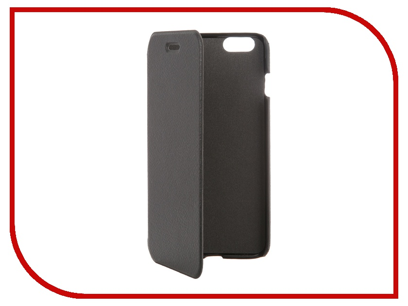 Аксессуар Чехол Clever Case ShellCase for iPhone 6 Plus PU Black<br>