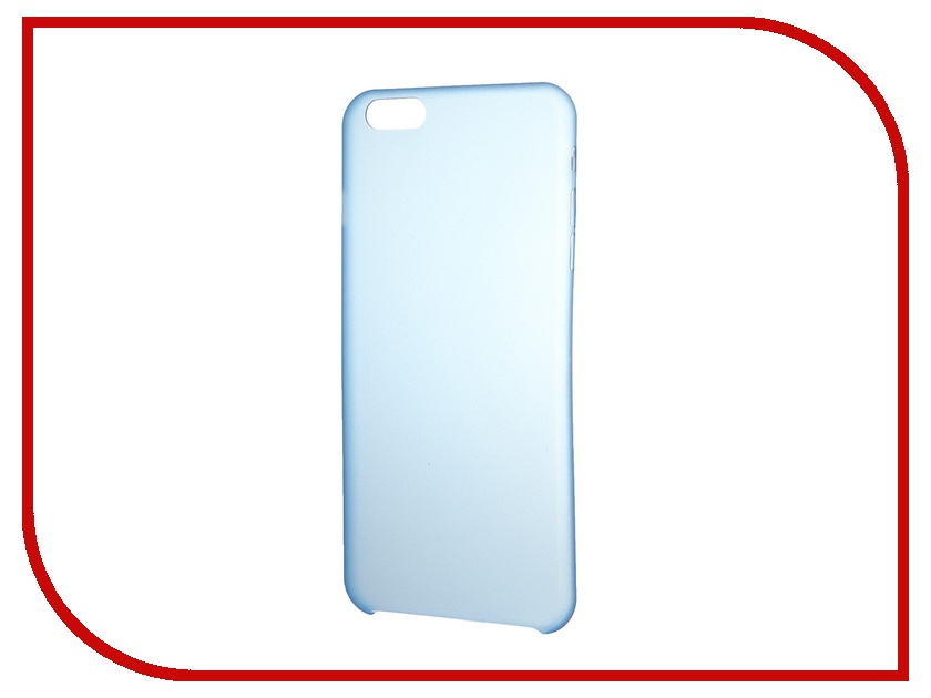 Аксессуар Чехол-накладка Clever Ultralight Cover for iPhone 6 Plus Blue