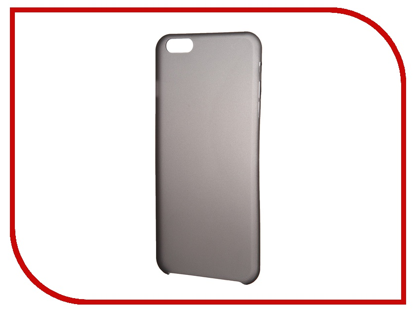 Аксессуар Чехол-накладка Clever Ultralight Cover for iPhone 6 Plus Black