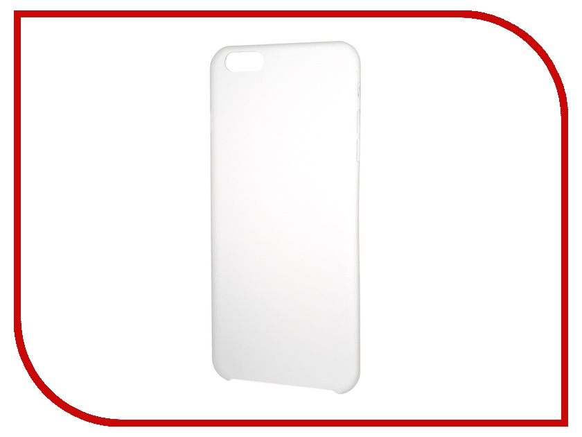 Аксессуар Чехол-накладка Clever Ultralight Cover for iPhone 6 Plus Transparent<br>