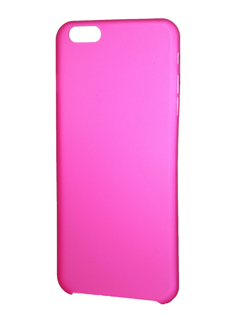 Аксессуар Чехол-накладка Clever Ultralight Cover for iPhone 6 Plus Pink<br>
