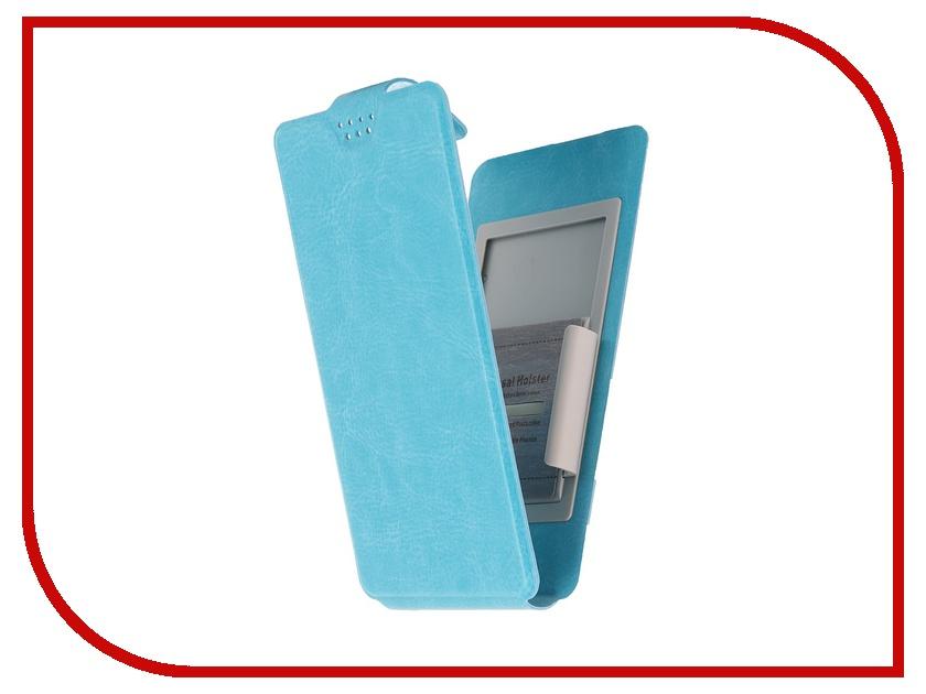 Аксессуар Чехол-флип Clever SlideUP M 4.4-5.0-inch универсальный иск. кожа Blue<br>