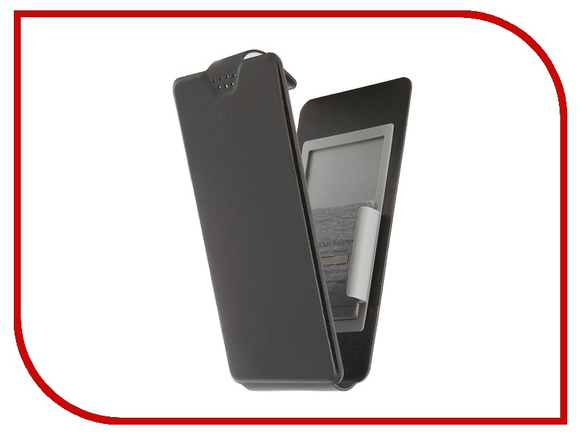 Аксессуар Чехол-флип Clever SlideUP M 4.4-5.0-inch универсальный иск. кожа Black