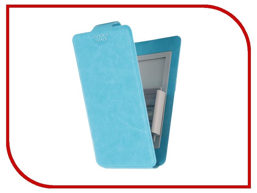 Аксессуар Чехол-флип Clever SlideUP S 3.5-4.3-inch универсальный иск. кожа Blue юбка page one 2015 pb1 625611 499 page 3