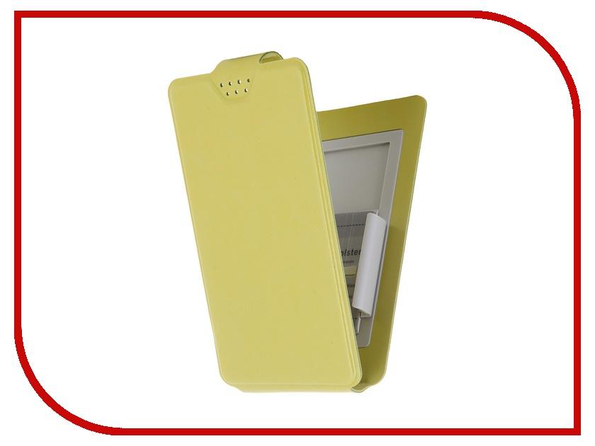 Аксессуар Чехол-флип Clever SlideUP S 3.5-4.3-inch универсальный иск. кожа Green