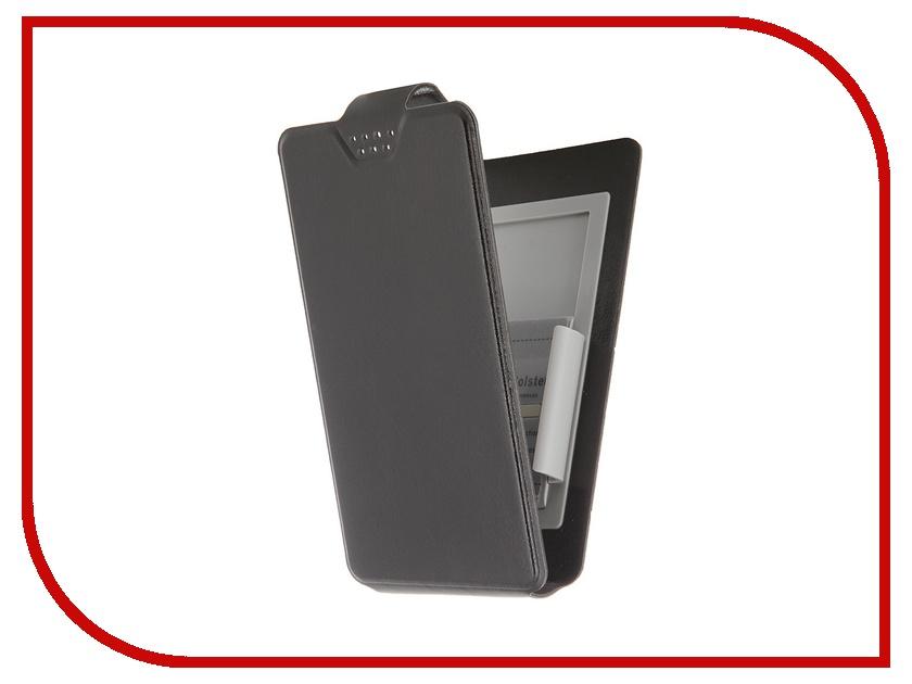 Аксессуар Чехол-флип Clever SlideUP S 3.5-4.3-inch универсальный иск. кожа Black<br>