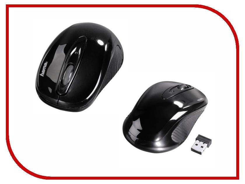 Мышь беспроводная HAMA AM-7300 Black USB<br>