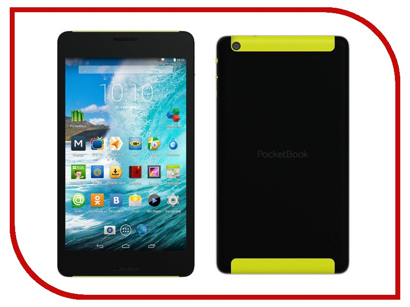 Планшет PocketBook SURFpad 4 S Black PBS4-7-D-CIS (CPU 8Core 1.7 GHz/2048Mb/16Gb/Wi-Fi/3G/GPS/Cam/7.0/1920x1200/Android)<br>