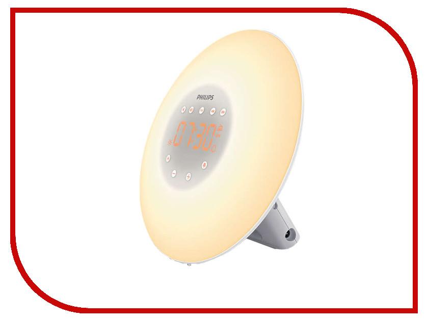 Часы Philips Wake-up Light HF3505 световой будильник philips wake up light hf3510
