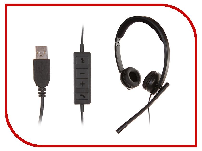 Logitech USB Headset Stereo H570e 981-000575 logitech g231 игровая гарнитура black orange 981 000627