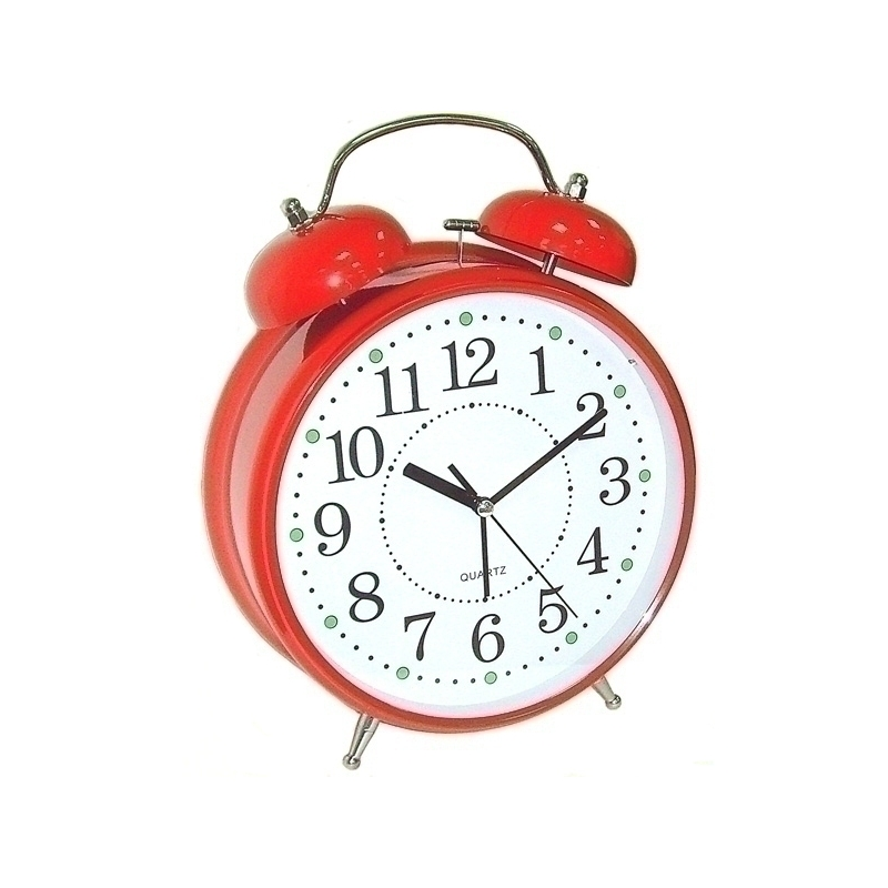 Гаджет Эврика Часы Будильник Гигант Red 92266<br>