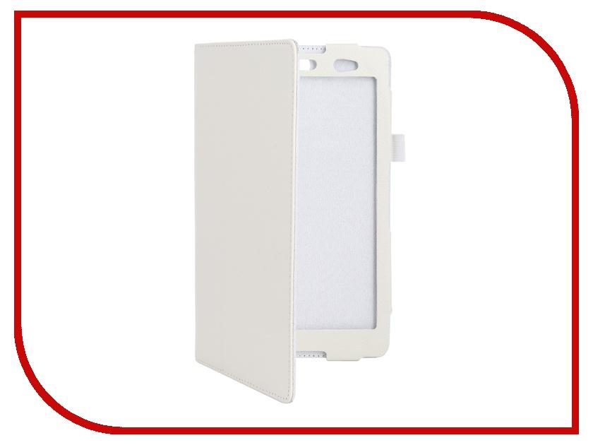 Аксессуар Чехол Sony Xperia Z3 Tablet Compact Palmexx Smartslim иск. кожа White<br>