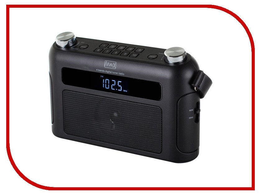 Радиоприемник MAX MR-310T 30008 радиоприемник max q71