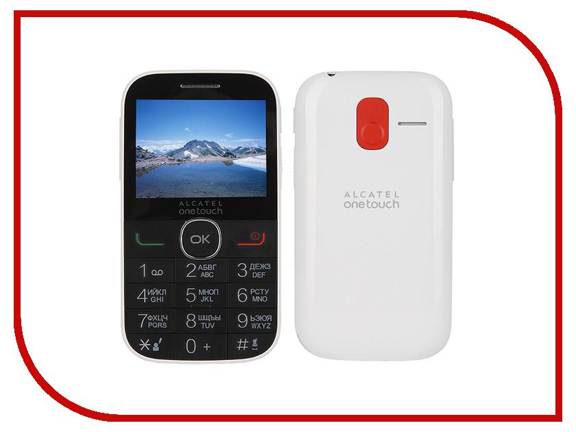 Сотовый телефон Alcatel OneTouch 2004C Pure White