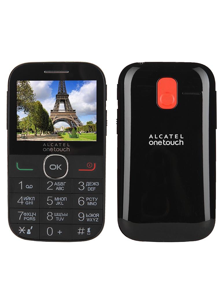 Сотовый телефон Alcatel OneTouch 2004G Black<br>