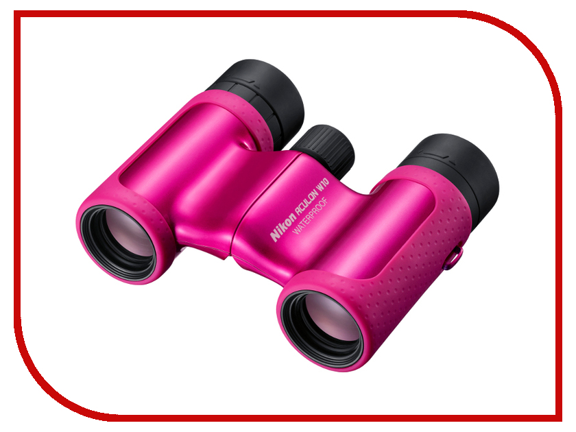 Бинокль Nikon 8x21 Aculon W10 Pink